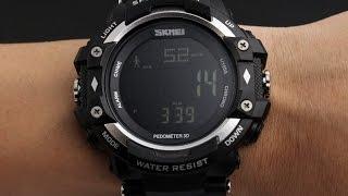 Наручные часы Skmei 1180 3D-Фитнес с Шагомером и Пульсометром. . Видео  обзор и 31717fc458342