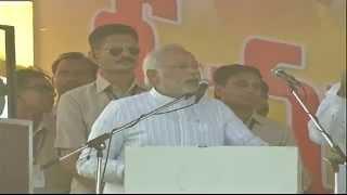 Shri Narendra Modi addressing a Public Meeting in Guntur Andhra Pradesh