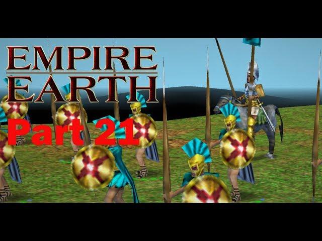 Empire Earth Part 21, griechische Kampagne 6, Teil 1 von 3, Walktrough