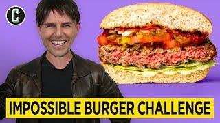 Tom Cruise IMPOSSIBLE BURGER Challenge! (Deepfake Parody)