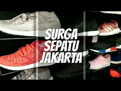 SURGA SEPATU JAKARTA!!!   Blusukan Pasar Taman Puring (Mini Vlog 3) 8d2f29e589