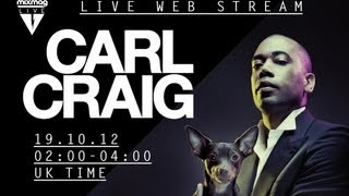 vuclip Carl Craig interview at Mixmag Live