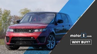Why Buy? | 2017 Land Rover Range Rover Sport SVR Review