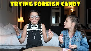 One of Hayley LeBlanc's most viewed videos: Trying Foreign Candy with Acroanna | elleoNyaH