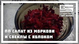 ПП салат из моркови и свеклы с яблоком - ПП РЕЦЕПТЫ: pp-prozozh.ru