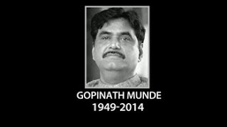 Union Minister Gopinath Munde dies in road accident in Delhi