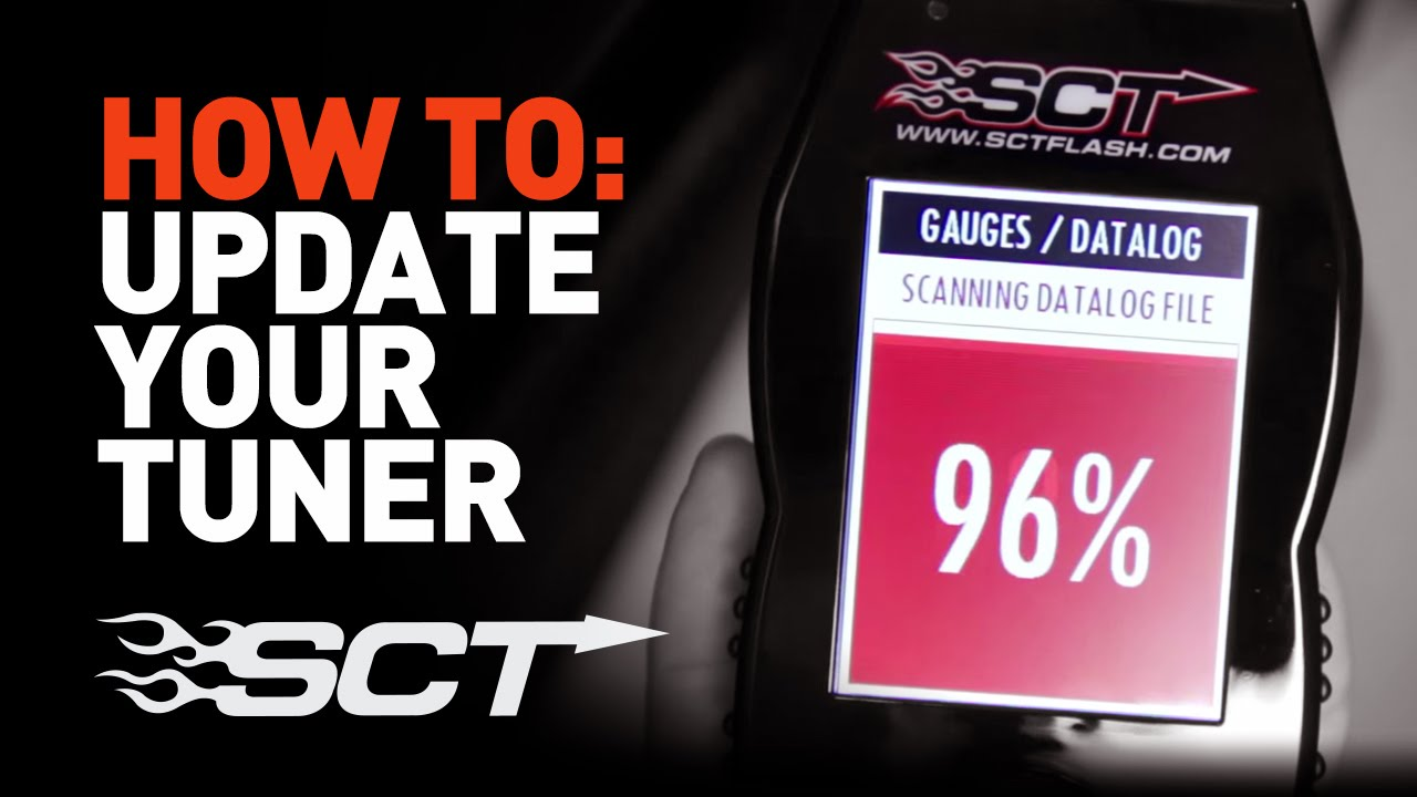 SCT Tech: How To Update Your Tuner