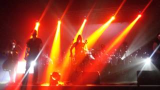 Apocalyptica - Dead Man`s Eyes (Franky Perez). Kiev. 1/12/15