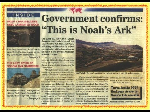 Noah's Ark Has Been Found, Confirmed To Be Real