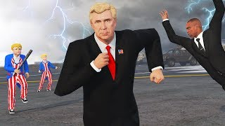 Playing as the PRESIDENT in the PURGE! (GTA 5)