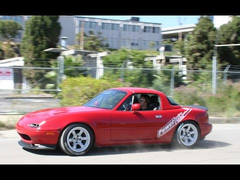 Turbo Miata Drag Racing