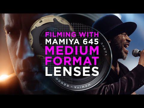 Filming With Medium Format Lenses – Tutorial & Test Mamiya 645 GH5, EVA1, MAVO LF MDEpicEpisodeS1E08