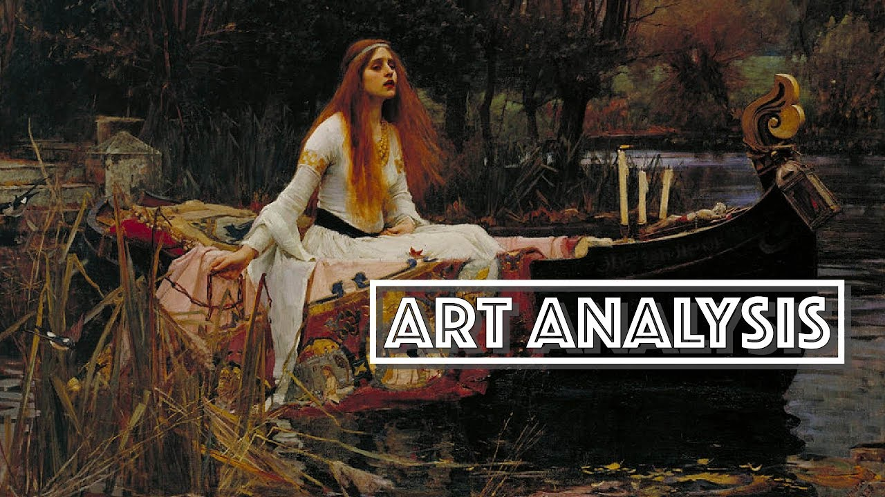 lady of shalott art analysis video essay  lady of shalott art analysis video essay