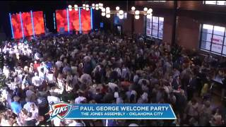 PAUL GEORGE- FULL PRESS CONFERENCE-  WELCOME PARTY - OKLAHOMA CITY THUNDER | 2017 NBA FREE .....