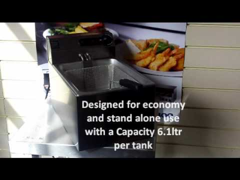 parry single electric fish fryer