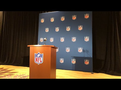 Roger Goodell Press Conference At 2018 NFL Annual Owners Meeting