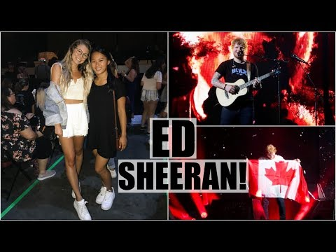 Ed Sheeran Concert + Haul!