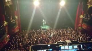 Andy Black singing Saviour at the Koko London
