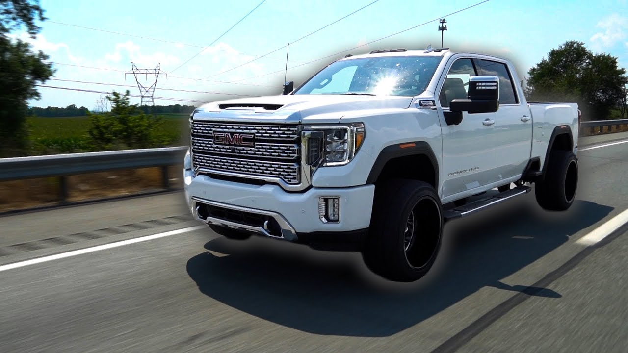 The FIRST EVER 2020HD Denali Duramax on 22x14's! - YouTube
