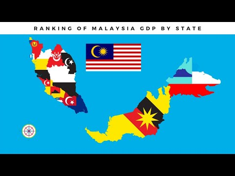 Malaysian States GDP Rank|Peringkat KDNK Negeri - Negeri Di Malaysia