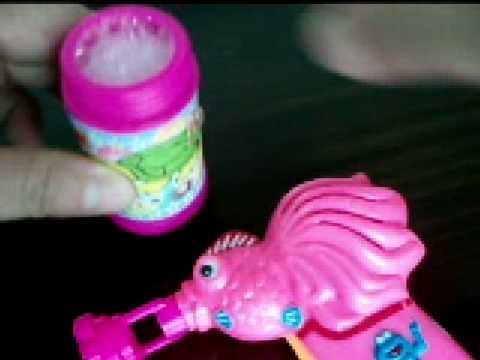 Goldfish Bubble Gun