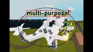 Multi-Purpose-drone! | Plane Crazy | roblox |
