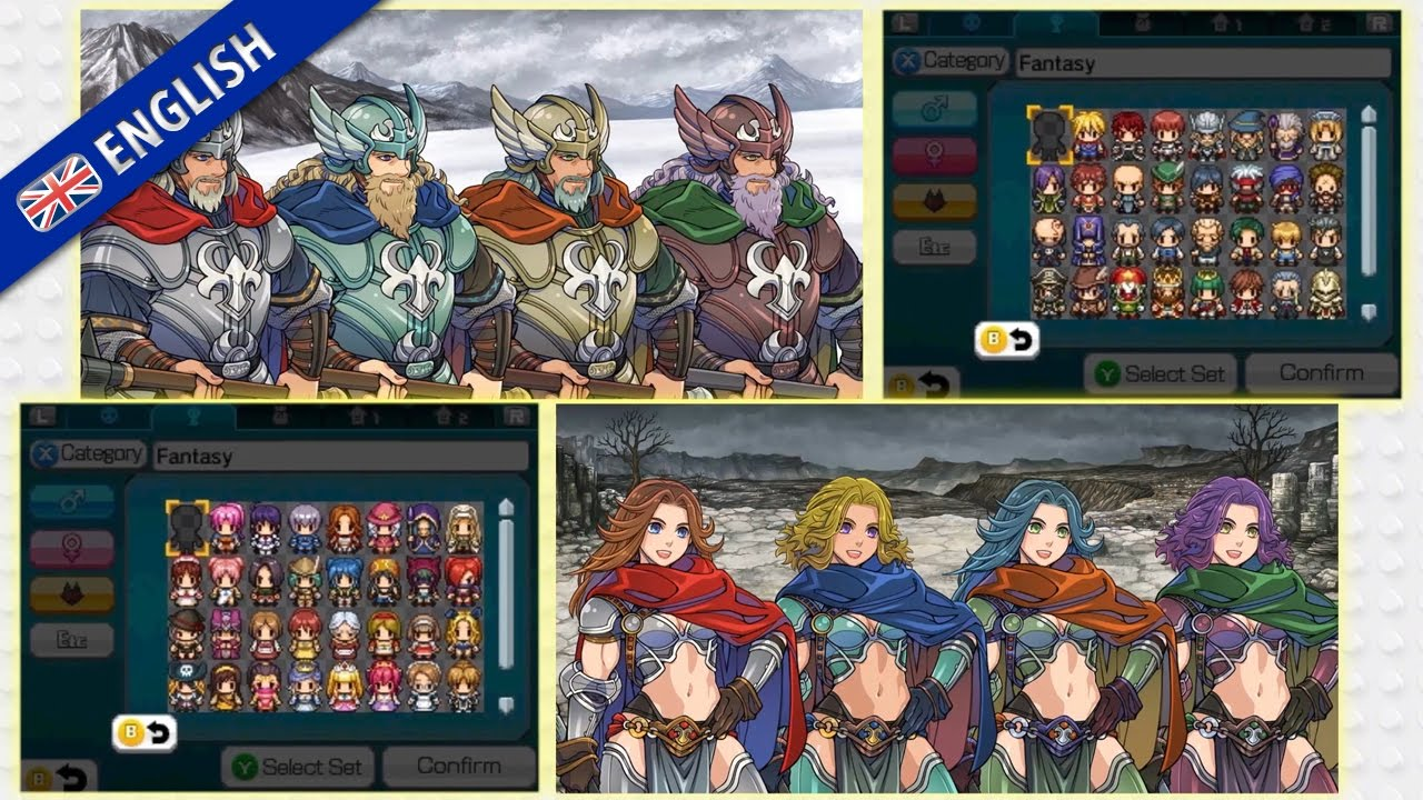 Rpg Maker Fes Building Your Rpg Trailer Nintendo 3ds Eu