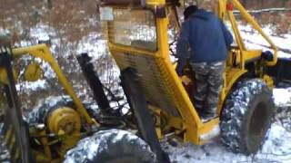 DFU 451 - Forstarbeit - Holzabtransport