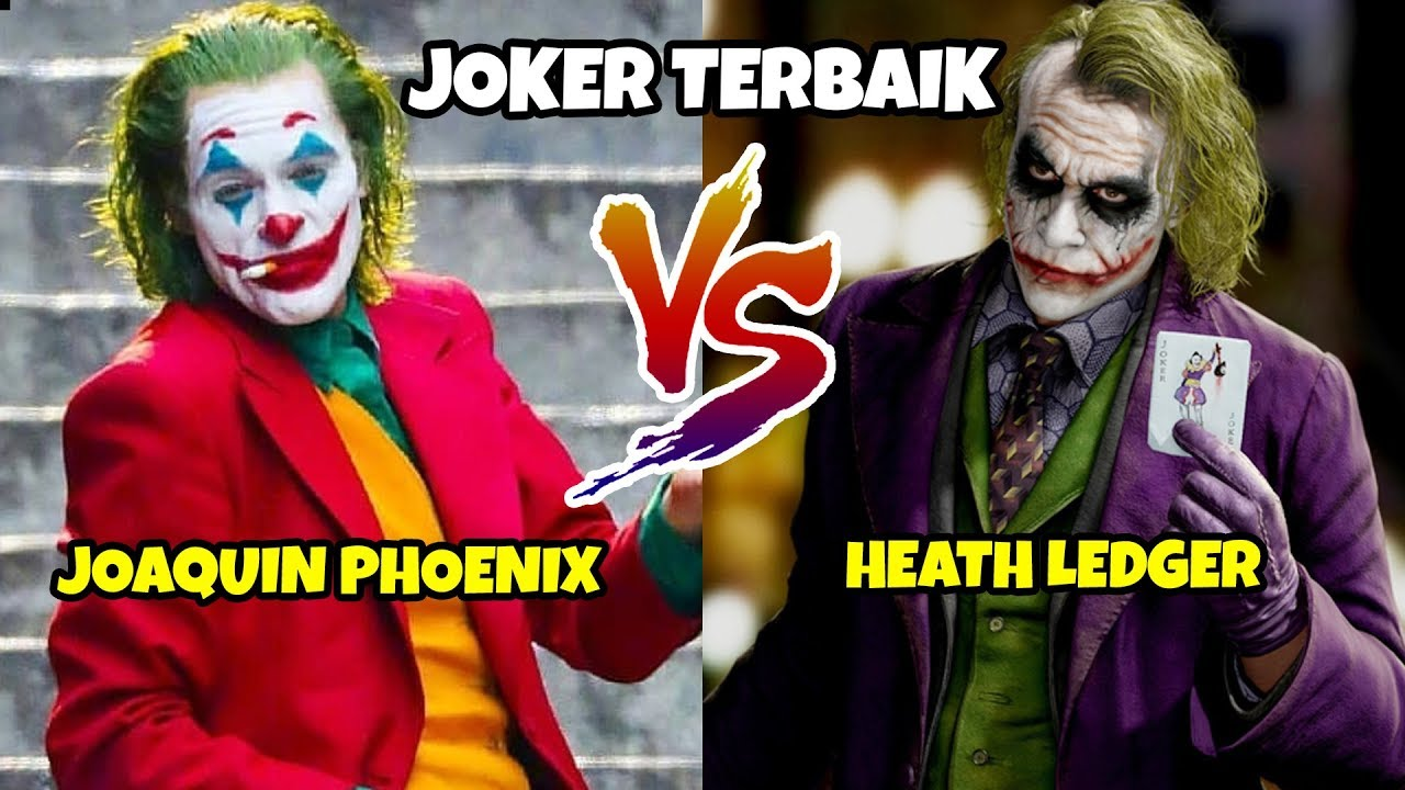 Heath Ledger Vs Joaquin Phoenix Poll: JOKER VERSI HEATH LEDGER VS JOAQUIN PHOENIX