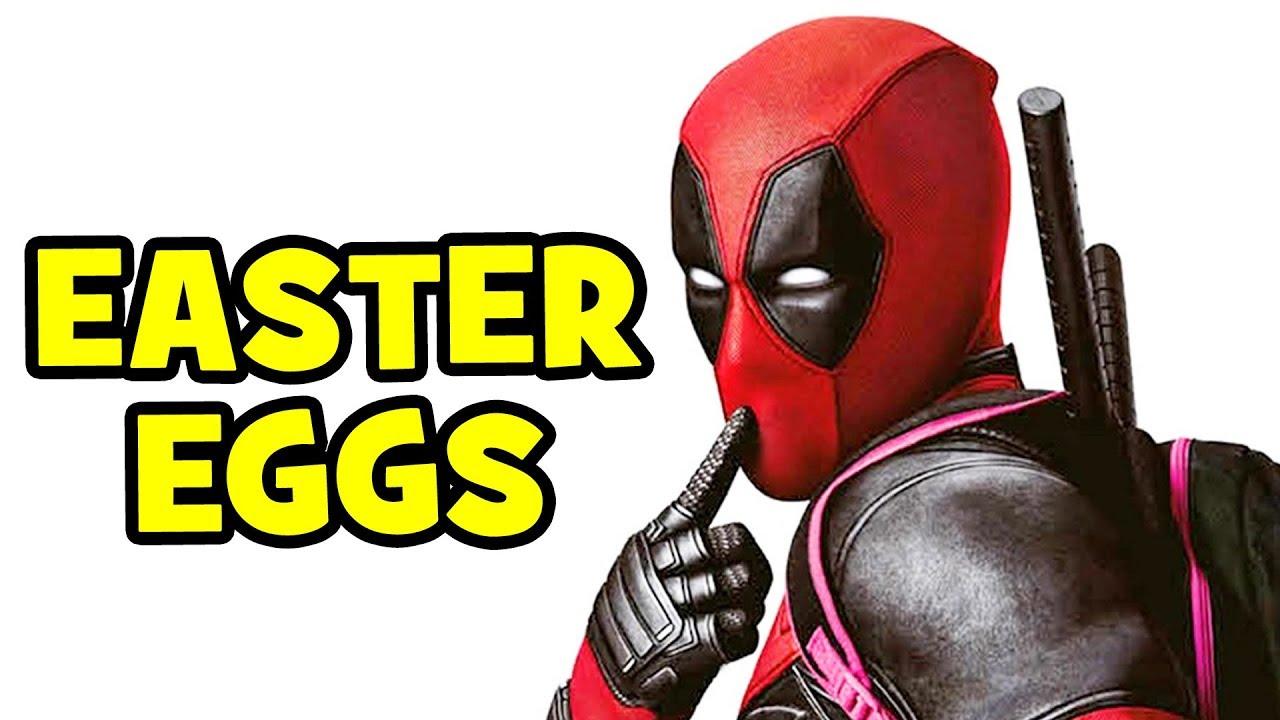 Deadpool EASTER EGGS & References - Marvel, X-Men, Post ...