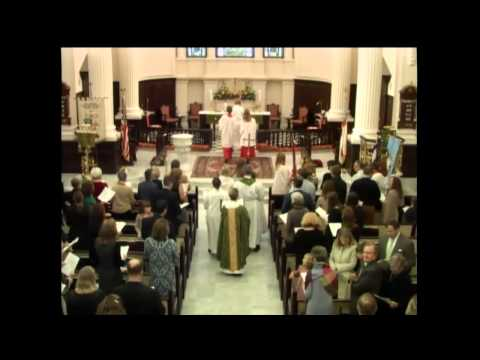 """All Because of You"" Celtic U2 Mass on October 18, 2015 at St. James's in Richmond, VA"