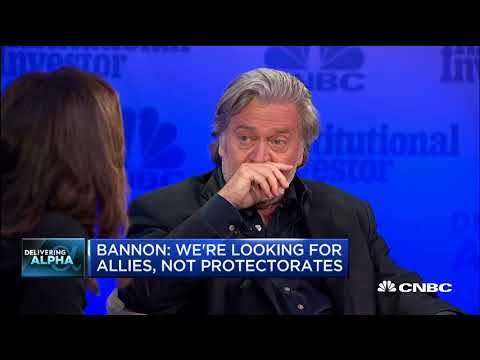 Bannon: Donald Trump is trying to save NATO, doesn't want protectorate | In The News