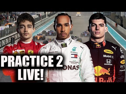 2019 Abu Dhabi Grand Prix Practice 2 Watchalong