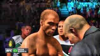 Bruce Lee vs. Edson Barboza (EA Sports UFC 2) - CPU vs. CPU