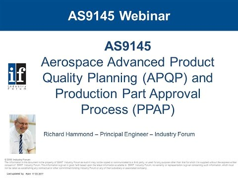 AS9145 - Shaping the future of New Product Introduction within Aerospace & Defence