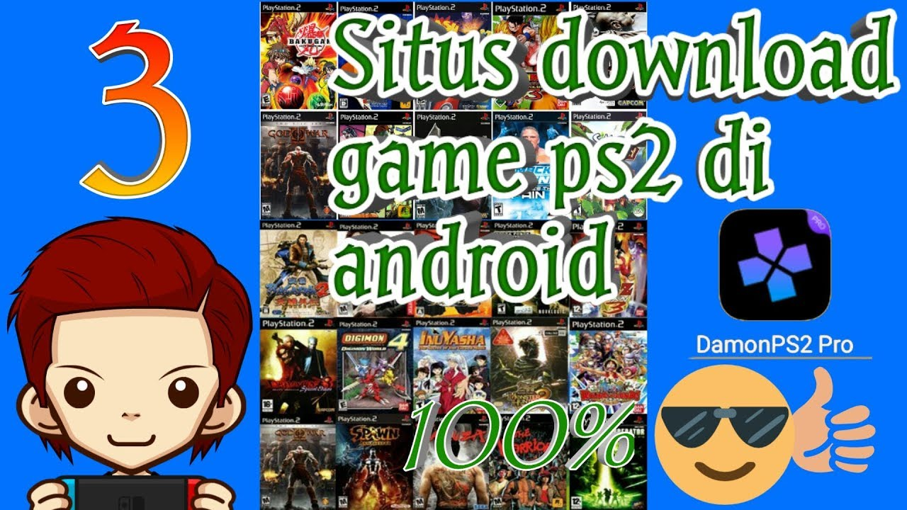 tempat download game ps2 android