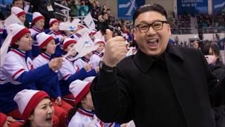 Fake Kim Jong-un fails to impress North Korean cheerleaders in Pyeongchang at Winter Olympics