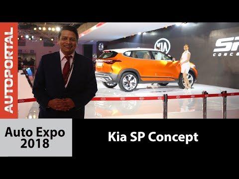 Kia SP Concept at Auto Expo 2018 - Autoportal