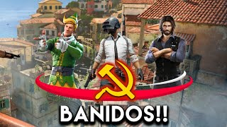 Urgent!! HAVE JUST BEEN BANNED FREE FIRE, PUBG, FORTNITE!!