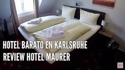 Review Hotel Maurer en Karlsruhe (Alemania)