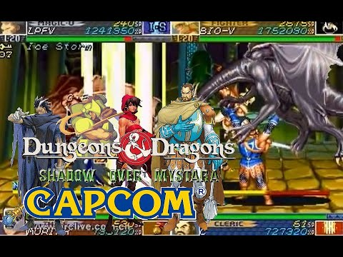 Dungeons & Dragons Shadow over Mystara hardest 4p Coorperated no death playthrough