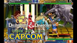 Dungeons & Dragons Shadow over Mystara hardest 4p Coorperated no death playthrough