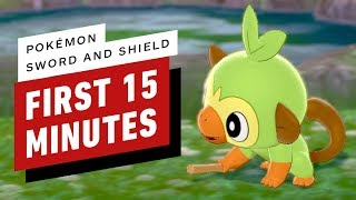 Pokemon Sword and Shield: The First 15 Minutes of Gameplay