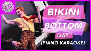 """Bikini Bottom Day"" - SpongeBob SquarePants: The Broadway Musical  ||  [PIANO KARAOKE INSTRUMENTAL]"