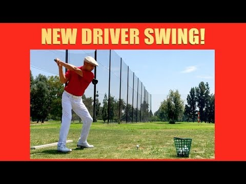 NEW DRIVER SWING!!!