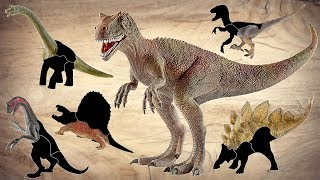 Real Dinosaurs is Back! Wrong Heads Dinosaur! Learn Dinosaur With moving Puzzle~ Fun Video~