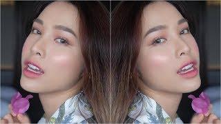 Rose  Makeup Look - Trang Điểm tone Cánh Hồng Phai - Phú Quốc Trip