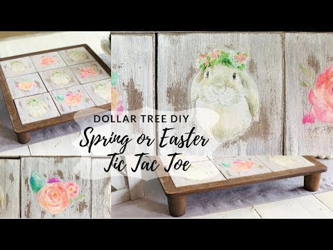 Dollar Tree DIY Farmhouse Spring or Easter Decor