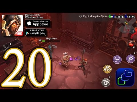 Dungeon Hunter 5 Android IOS Walkthrough - Part 20 - Solo Bounty 20-21 (HARD)