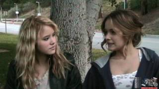 Taylor Spreitler & Cassi Thomson Interview On Set of Inspire Magazine Covershoot